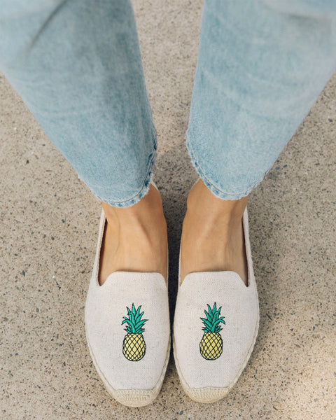SOLUDOS Pineapple Espadrille