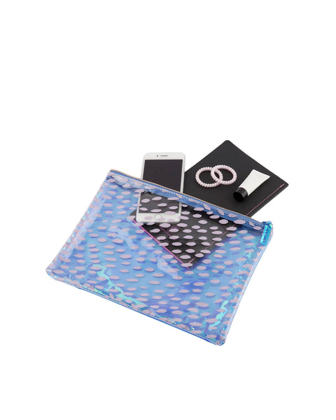 Sunnylife See Throu Blue Pouch