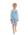 Sunuva Boys Batik Fish Swim Shorts