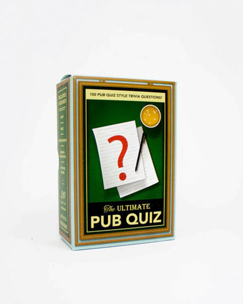 Pub Quiz Trivia Cards - General Knowledge