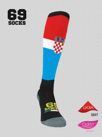 #69socks Q-skin Long Croatia