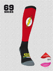 #69socks Q-skin Long Flash Runner
