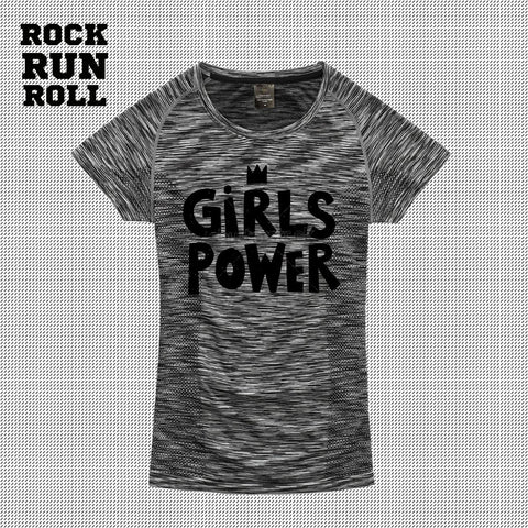 RRR T-Shirt Woman Active Dry GIRLS POWER - Donna