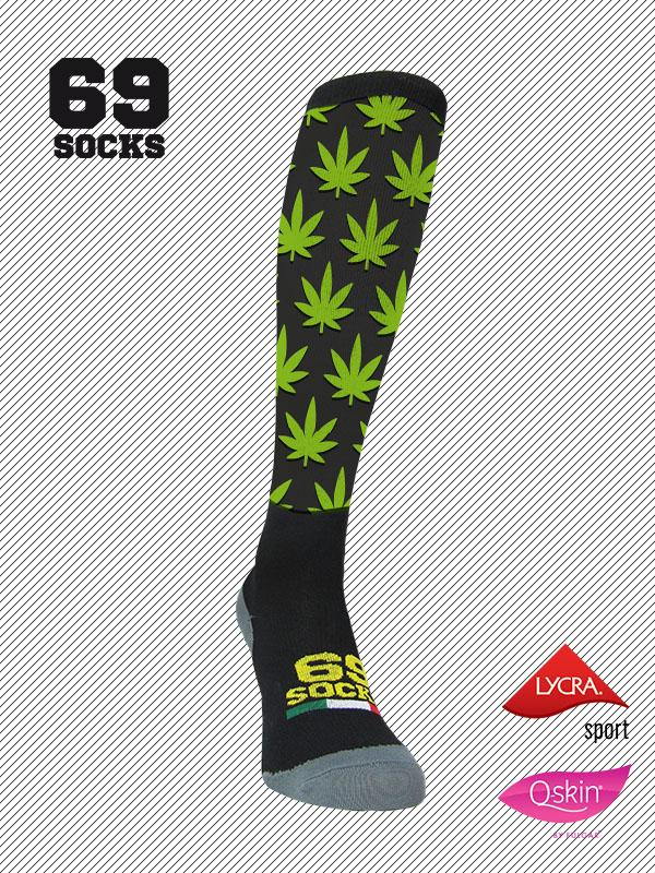 #69socks Q-skin Long Ganja run