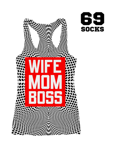 Tank Race Running  WIFE MOM BOSS 2019