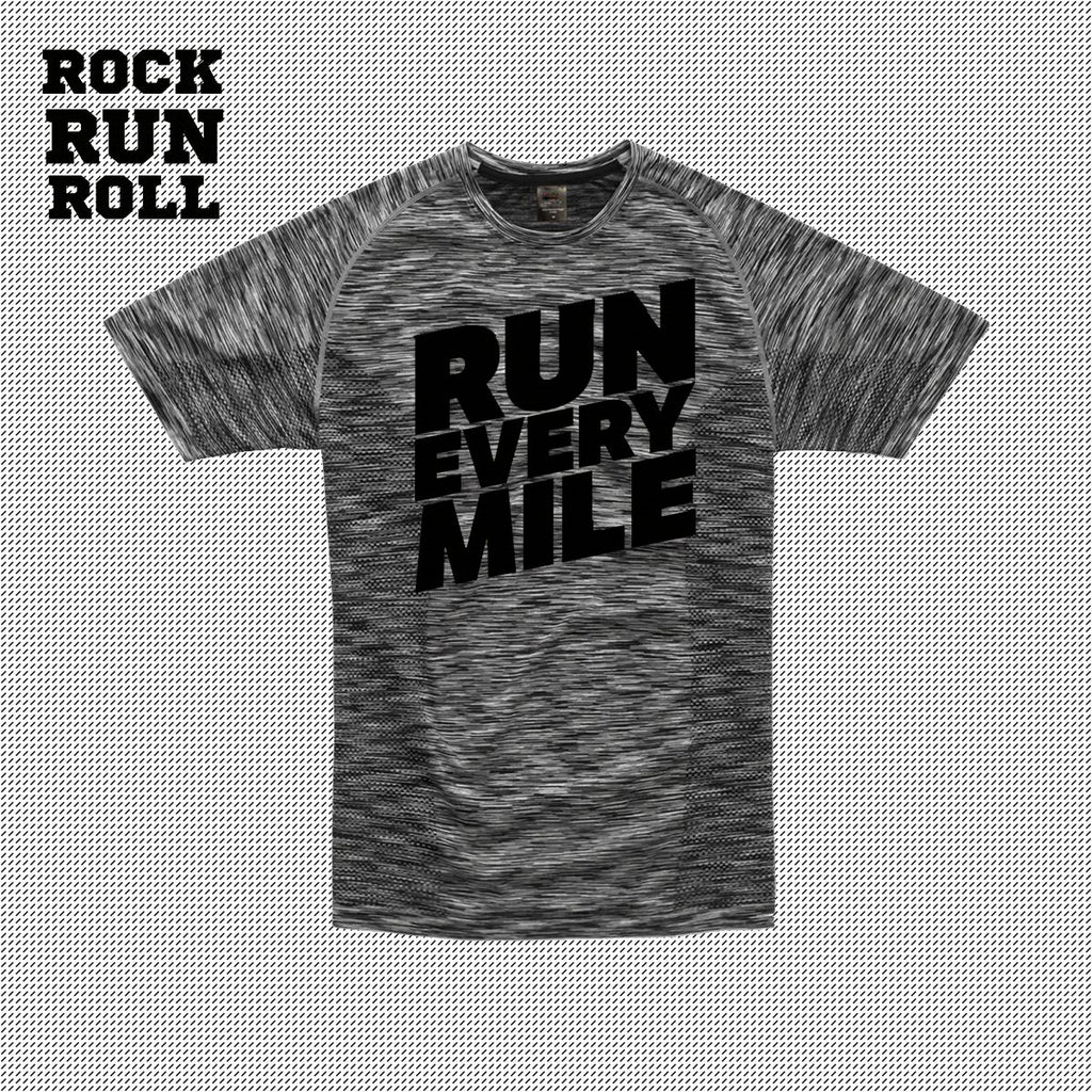RRR T-Shirt Man Active Dry RUN EVERY MILE - Uomo