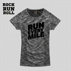 RRR T-Shirt Woman Active Dry RUN EVERY MILE - Donna