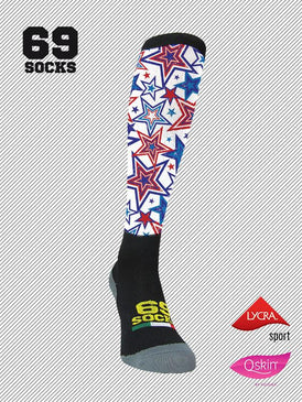 #69socks Q-skin Long #71Star Usa