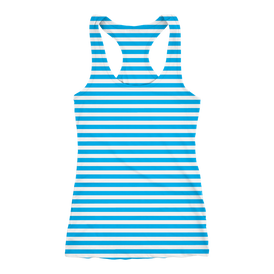 Tank Race Running   Stripe Azul 2019
