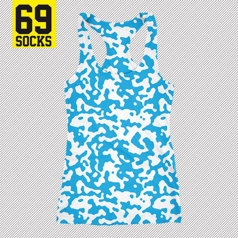 69tank Camo Azul One color