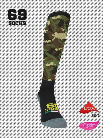 #69socks Q-skin Long Camo Classic