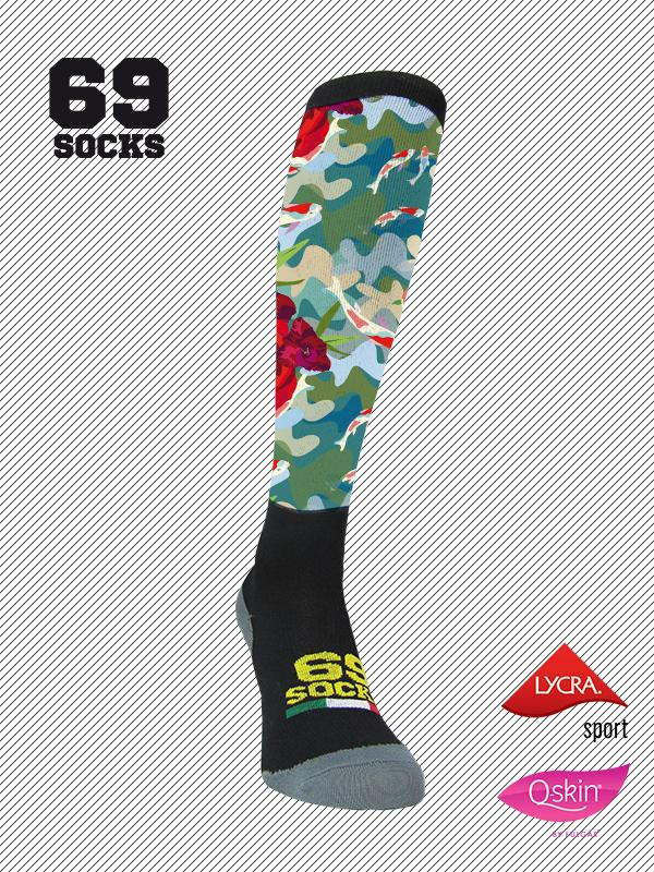 #69socks Q-skin Long #34CamoJapan