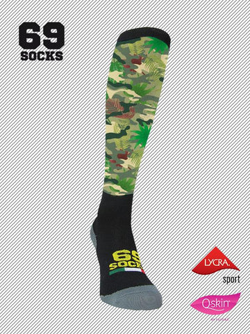 #69socks Q-skin Camo Jungle