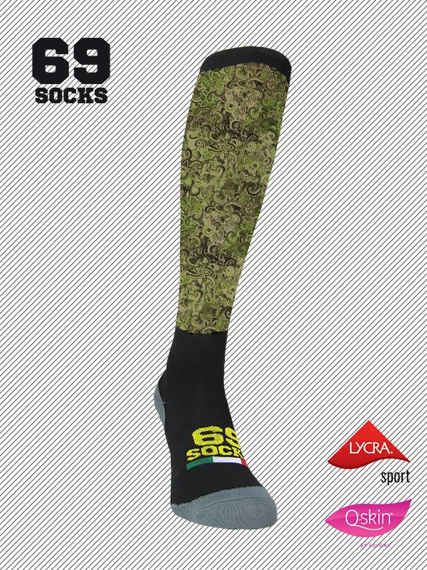 #69socks Q-skin Long #33CamoRik