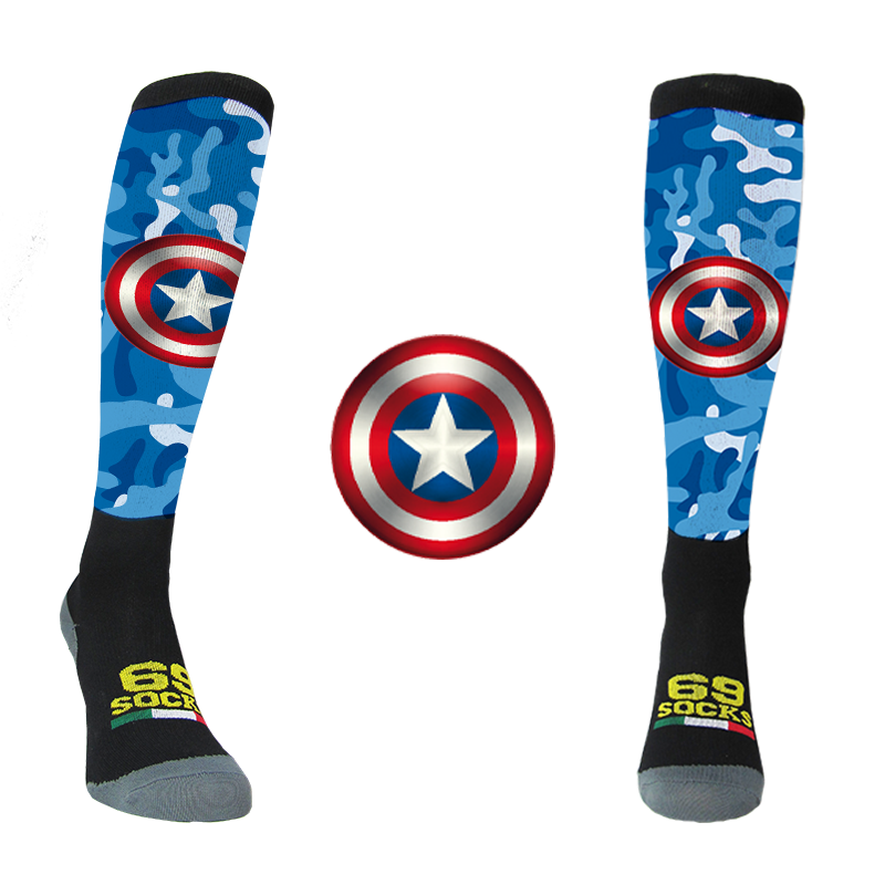 #69socks Q-skin Capitan Runner Camo