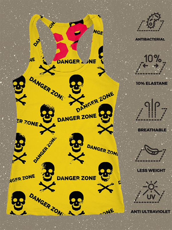 69Tank Top Danger