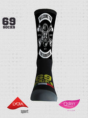 #69socks Q-skin Short Dark Side