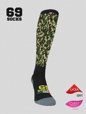 #69socks Q-skin Long #57Digital Camo