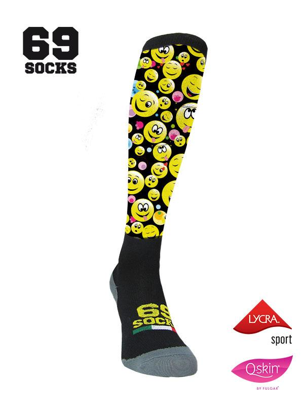 #69socks Q-skin Long #12Emoticons