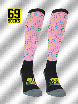 Riding  #69socks Q-skin Long Ferro Pink
