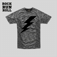 RRR T-Shirt Man Active Dry Flash Black - Uomo