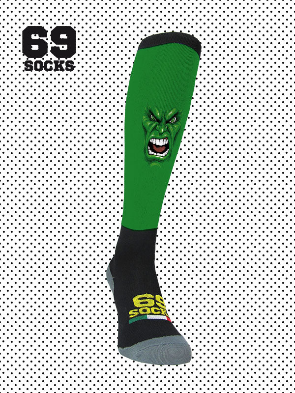#69socks Q-skin Long Green Run 2018