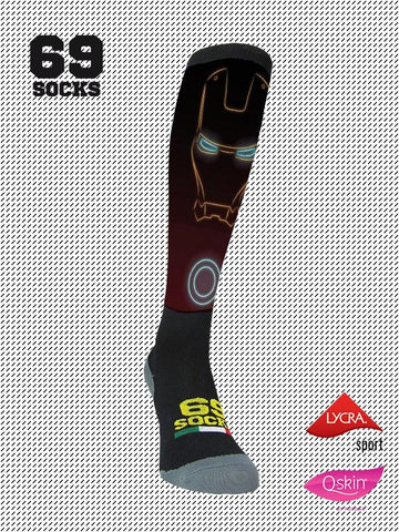 #69socks Q-skin Long Iron Runn