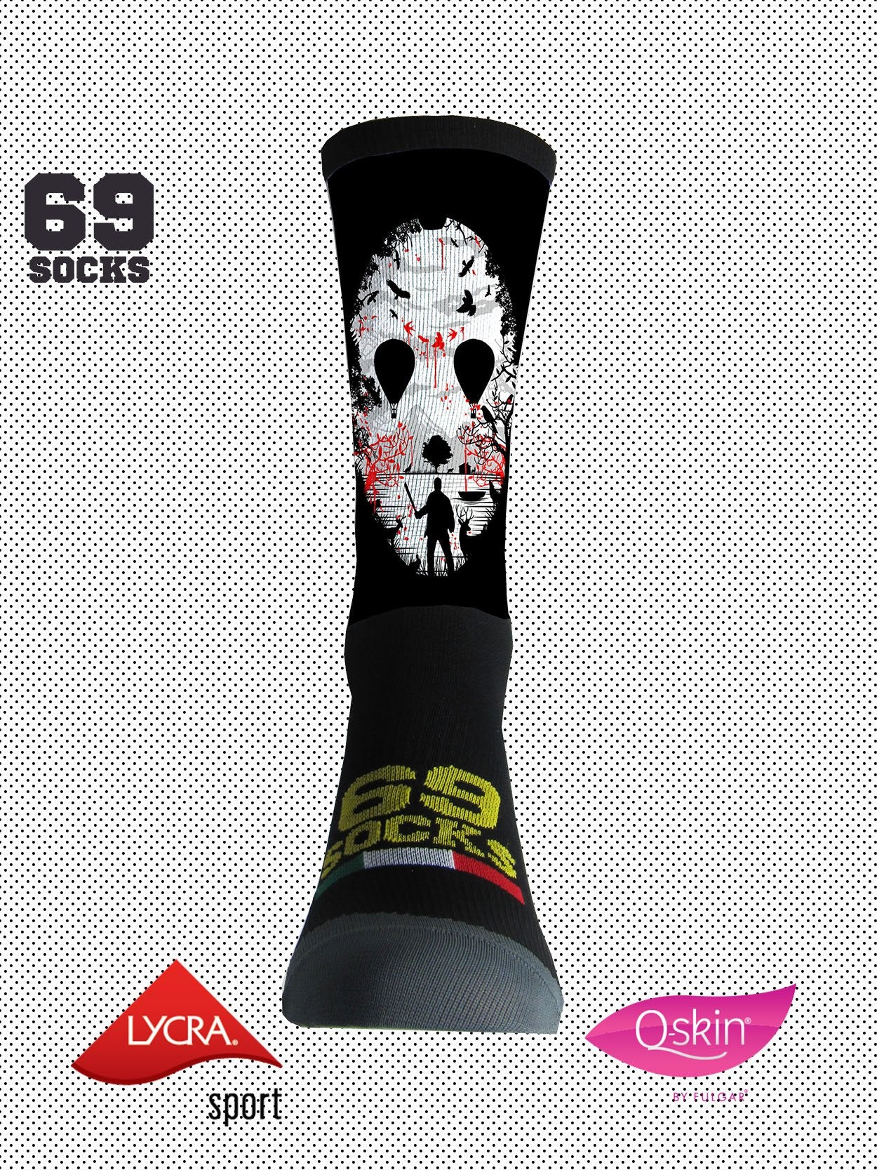 #69socks Q-skin Short Jason