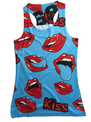 69Tank Top  Kiss Woman