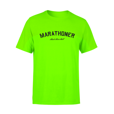 Marathon T Shirt Custom - Man.