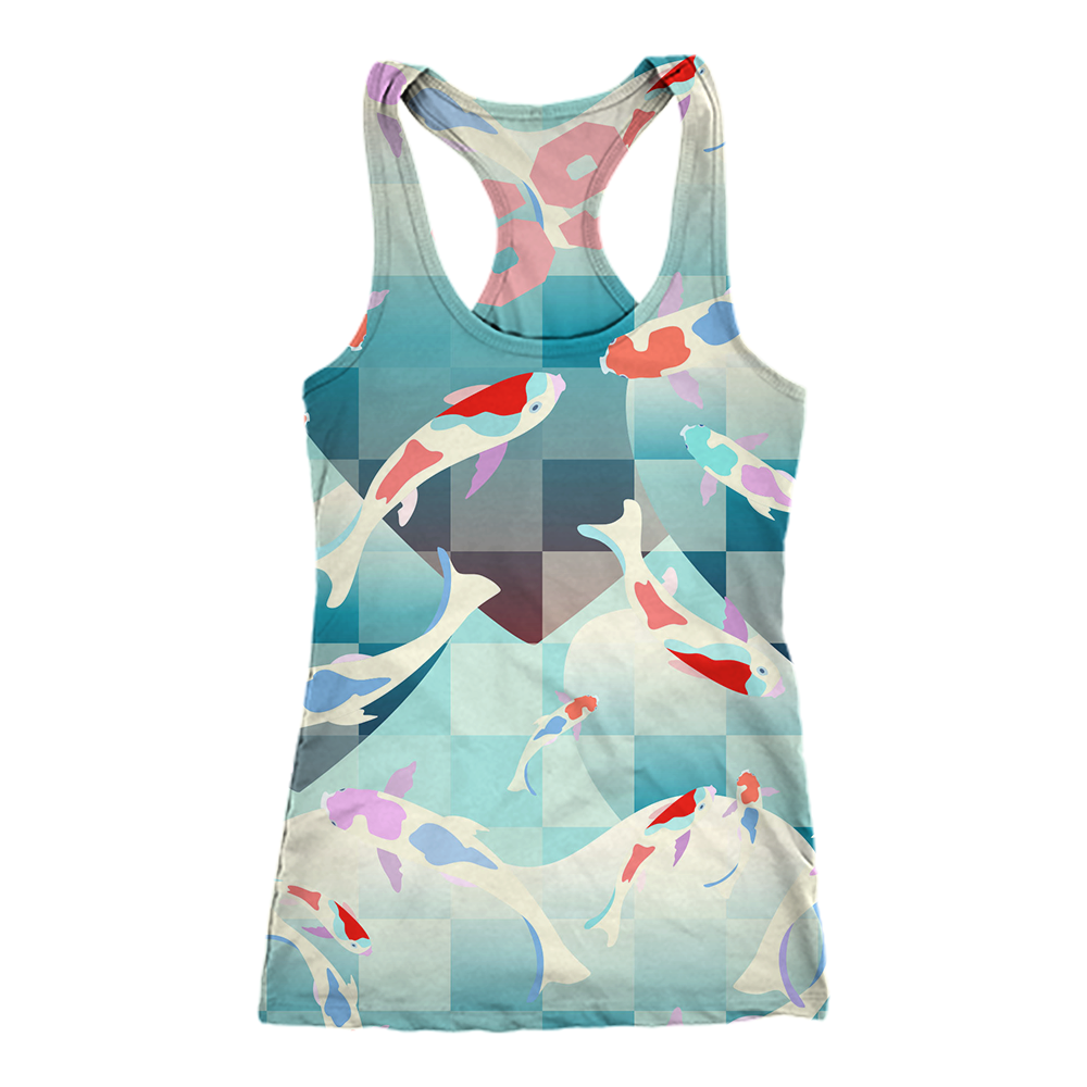 69Tank Top Koi Love