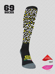#69socks Q-skin Long #81Leopard Machine