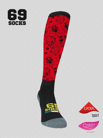 #69socks Q-skin #75Mexican Experience Red
