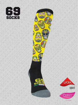 #69socks Q-skin #30Mex Yellow