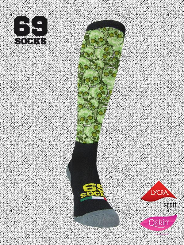 #69socks Q-skin Long #05Military Death