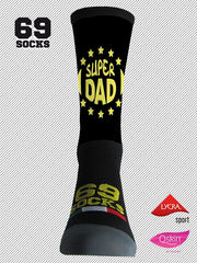 #69socks Q-skin Short SUPER DAD