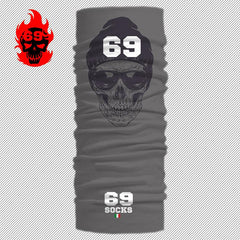 69 BANDANA MULTI USO Skull Glass