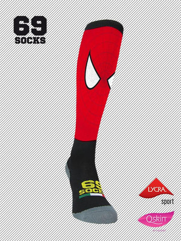 #69socks Q-skin Long #09Spiderunner