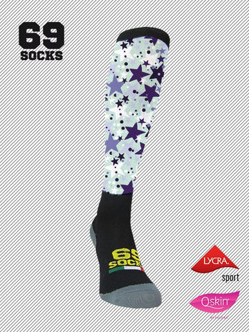 #69socks Q-skin Long #63Star Sugar
