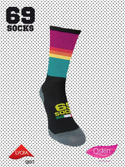 #69socks Q-skin Short Technicolor Purple