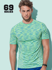 RRR T-Shirt Man Active Dry No Print - Uomo