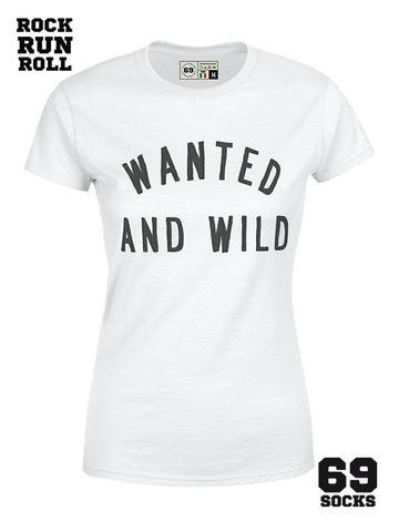 #69-Tshirt Wanted and Wild