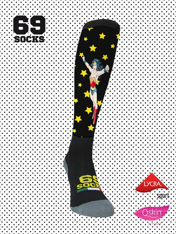 #69socks Q-skin Long Wonder Black 2018