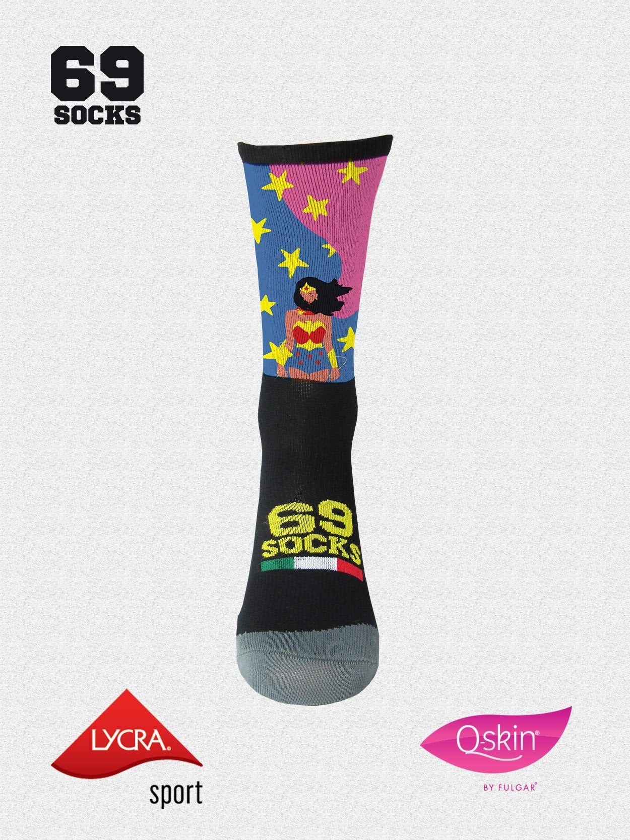 #69socks Q-skin Short wonder Runner