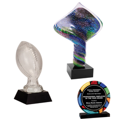 Acrylic, Glass, & Crystal Awards Landing Page