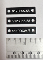 Very Small Black Labels