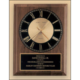 Excellence Award, American_walnut_vertical_wall_clock_with_round_face