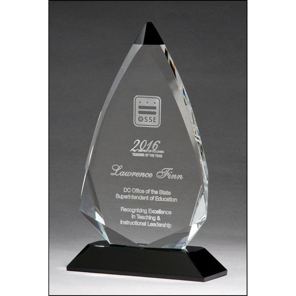 Arrow Series Crystal Award, 3 Sizes
