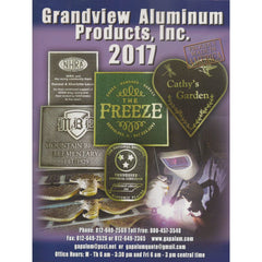 Grandview Aluminum Catalog 2017