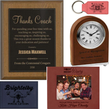 Leatherette Plaques and Gifts